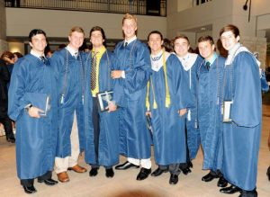 My Boys and I right after our High School Graduation